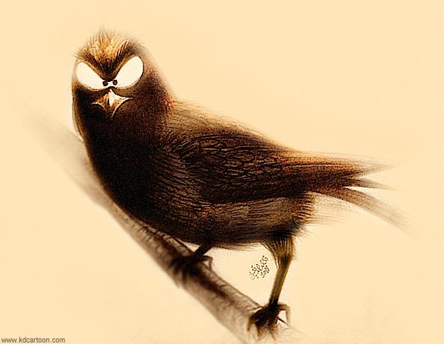 Evil Bird طير شرير