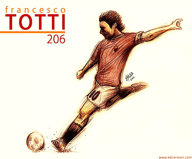 Francesco Totti فرانشيسكو توتي