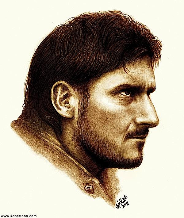 Portrait of Francesco Totti