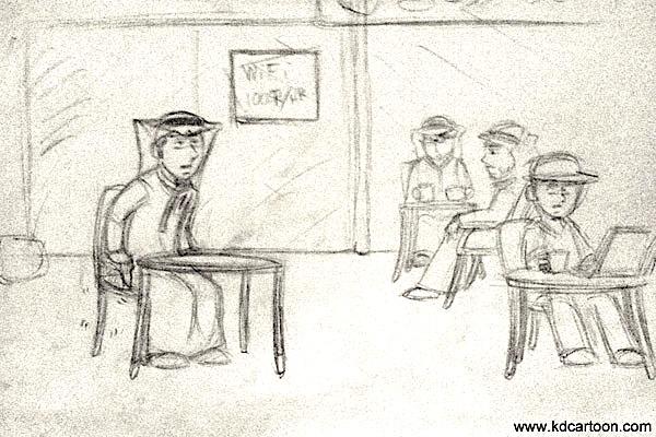 Process of Smug comic 2