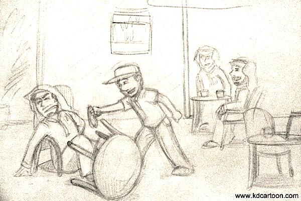 Process of Smug comic 4
