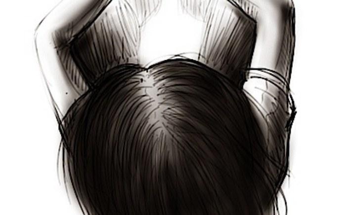 girl-upper-view