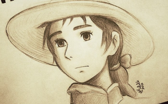 Howl's Moving Castle Sketch1