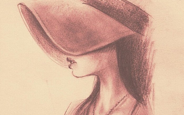 Girl in hat
